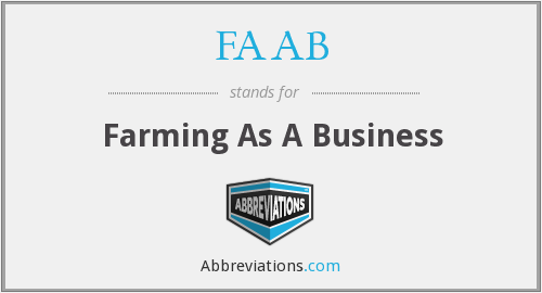 FAAB - Farming As A Business