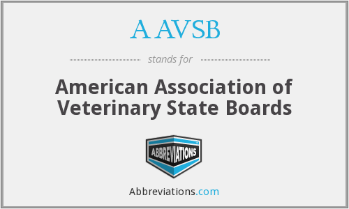 What does AAVSB stand for?