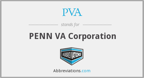 PVA - PENN VA Corporation