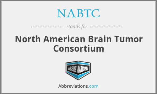 NABTC - North American Brain Tumor Consortium