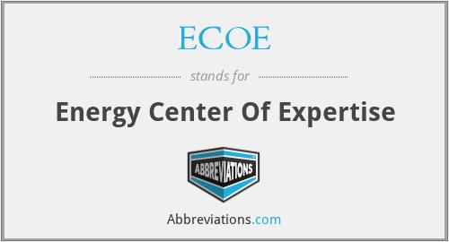 ECOE - Energy Center Of Expertise