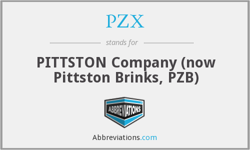 PZX - PITTSTON Company (now Pittston Brinks, PZB)