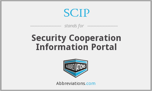 SCIP - Security Cooperation Information Portal