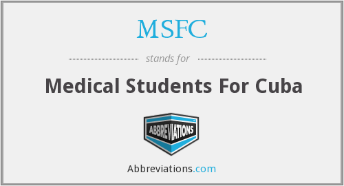 MSFC - Medical Students For Cuba