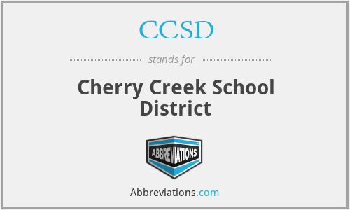 CCSD - Cherry Creek School District