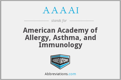 AAAAI - American Academy of Allergy, Asthma, and Immunology