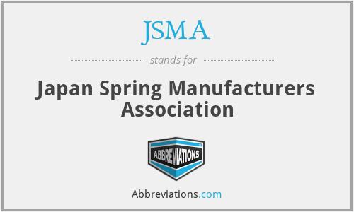 JSMA - Japan Spring Manufacturers Association