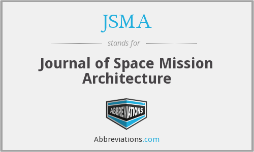 JSMA - Journal Of Space Mission Architecture