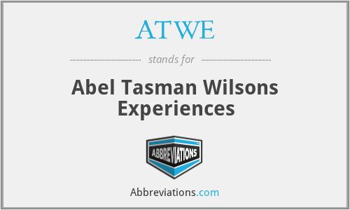 ATWE - Abel Tasman Wilsons Experiences