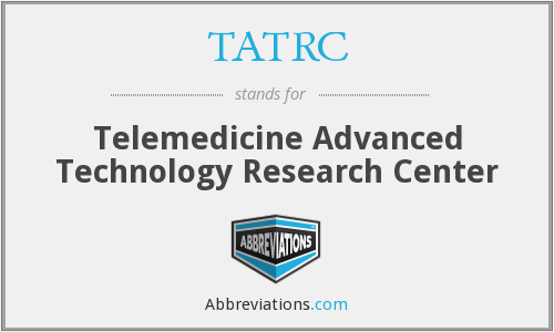 What does TATRC stand for?