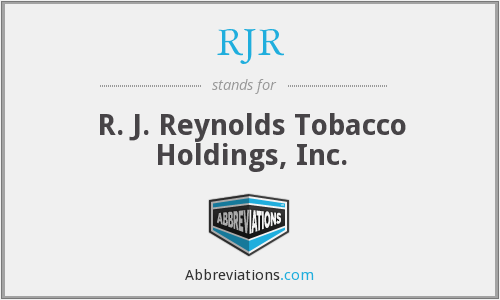 What does RJR stand for?
