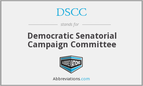 DSCC - Democratic Senatorial Campaign Committee