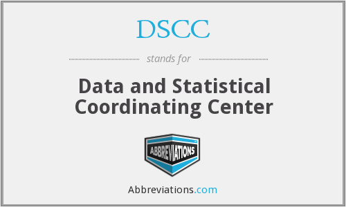DSCC - Data and Statistical Coordinating Center