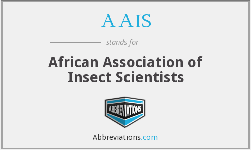 AAIS - African Association of Insect Scientists
