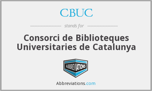 What does CBUC stand for?