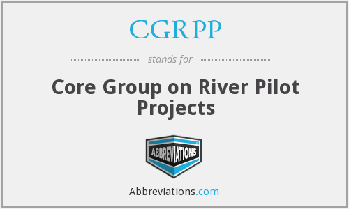 What does CGRPP stand for?