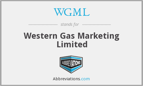 What does WGML stand for?