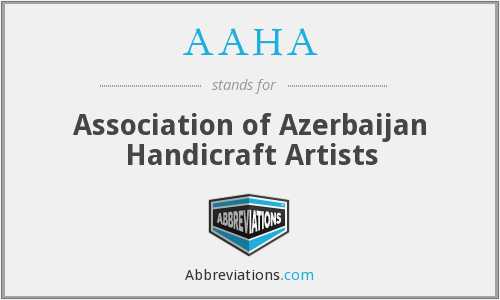 AAHA - Association of Azerbaijan Handicraft Artists