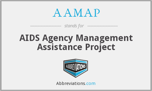 AAMAP - AIDS Agency Management Assistance Project