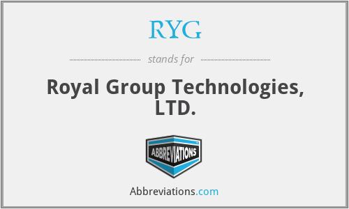 RYG - Royal Group Technologies, LTD.
