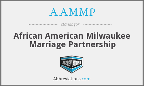 AAMMP - African American Milwaukee Marriage Partnership