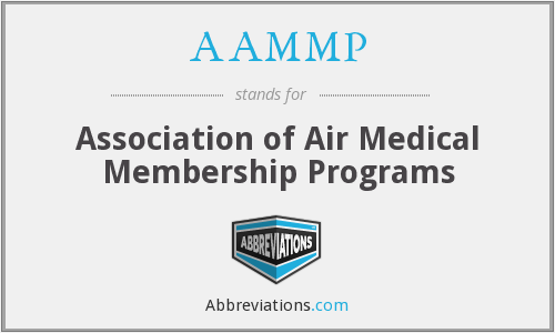 AAMMP - Association of Air Medical Membership Programs