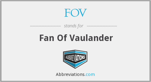 FOV - Fan Of Vaulander