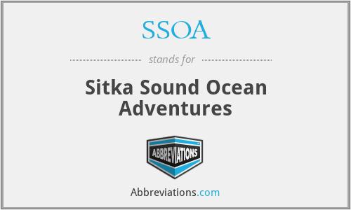 SSOA - Sitka Sound Ocean Adventures