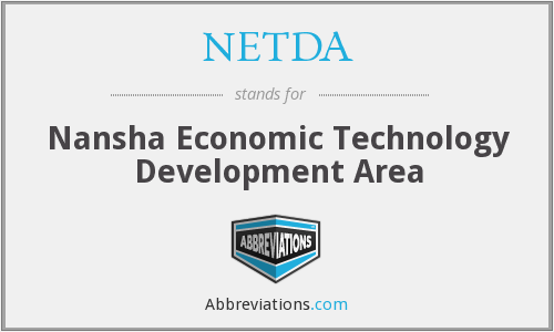 What does NETDA stand for?