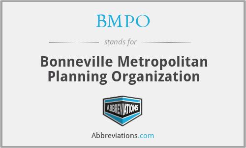 BMPO - Bonneville Metropolitan Planning Organization