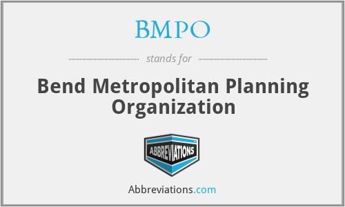 BMPO - Bend Metropolitan Planning Organization