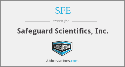 SFE - Safeguard Scientifics, Inc.