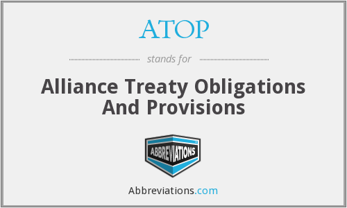 ATOP - Alliance Treaty Obligations And Provisions