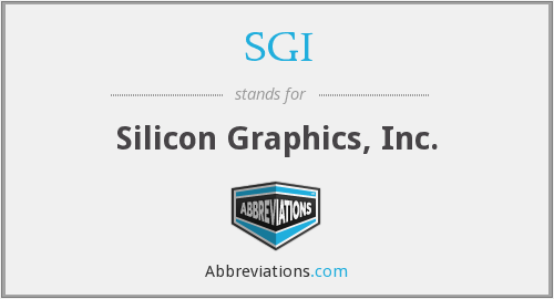 SGI - Silicon Graphics, Inc.