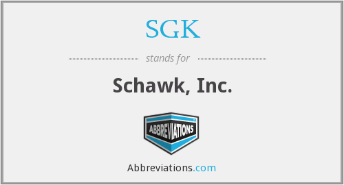 What does SGK stand for?