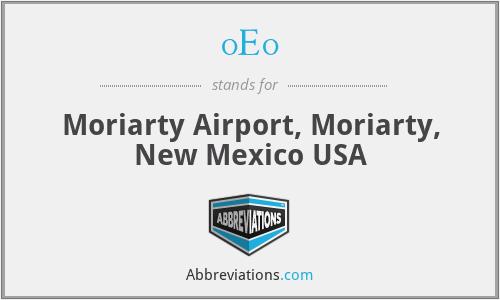 0E0 - Moriarty Airport, Moriarty, New Mexico USA