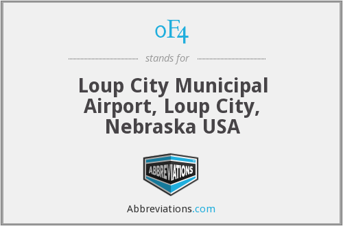 0F4 - Loup City Municipal Airport, Loup City, Nebraska USA