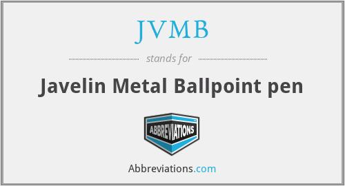 JVMB - Javelin Metal Ballpoint pen