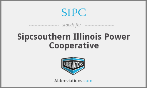 SIPC - Sipcsouthern Illinois Power Cooperative