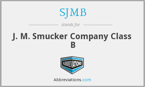 What does SJMB stand for?
