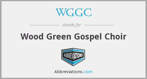 WGGC - Wood Green Gospel Choir
