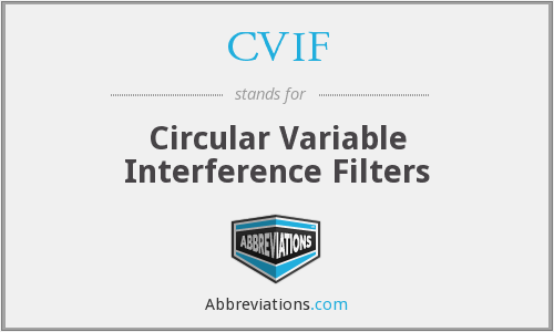 CVIF - Circular Variable Interference Filters