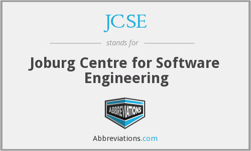 JCSE - Joburg Centre for Software Engineering