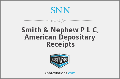 SNN - Smith & Nephew P L C, American Depositary Receipts