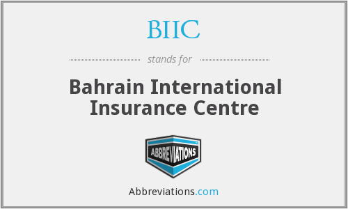 BIIC - Bahrain International Insurance Centre