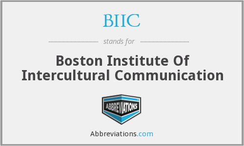 BIIC - Boston Institute Of Intercultural Communication
