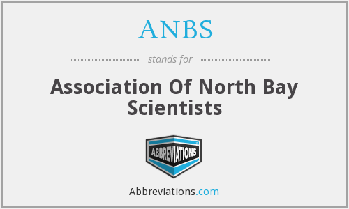 ANBS - Association Of North Bay Scientists