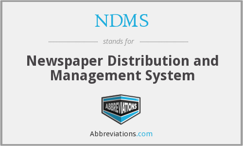 NDMS - Newspaper Distribution and Management System