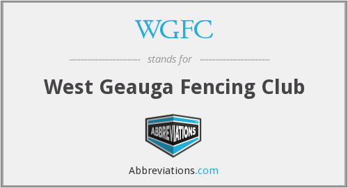 WGFC - West Geauga Fencing Club