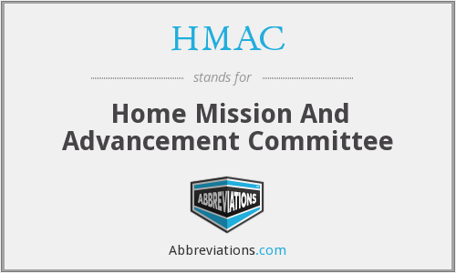 HMAC - Home Mission And Advancement Committee